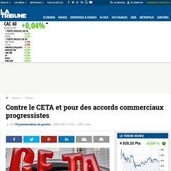 Contre le CETA et pour des accords commerciaux progressistes