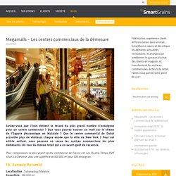 Megamalls - Les centres commerciaux de la démesure - SmartGrains