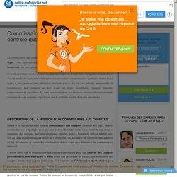Commissaire aux comptes : mission et contrôle qualité