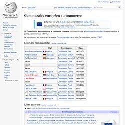 Commissaire européen au Commerce