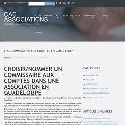 Les commissaires aux comptes en Guadeloupe