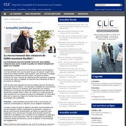 Actualité - Cabinet CLC-Expert - Expertise Comptable - Commissariat aux Comptes - MARCQ-EN-BARŒUL - ARMENTIÈRES - SIN-LE-NOBLE - LILLE