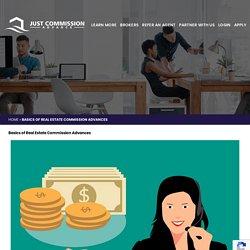 Real Estate Commission Advances