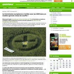 La Commission européenne s'entête avec les OGM dans un modèle agricole à bout de souffle !