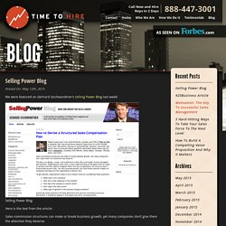 Hire Commission Based Sales Reps in Two Days Welcome to the Time To Hire Blog
