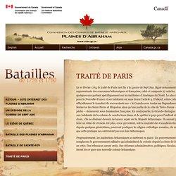 Le traité de Paris > Commission des champs de bataille nationaux
