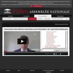 Commission des affaires culturelles et de l'éducation du mardi 21 avril 2020- M. Jean-Michel Blanquer, ministre de l'éducation nationale et de la jeunesse