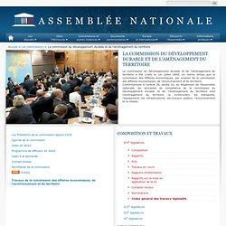 La commission du développement durable