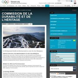 Commission de la durabilité et de l'héritage