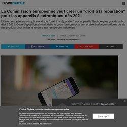 """La Commission européenne veut créer un """"droit à la réparation"""" pour les appareils électroniques dès 2021"""