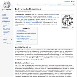 Federal Radio Commission