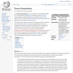 Wikipedia: Tower Commission