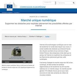 Marché unique numérique - Commission européenne