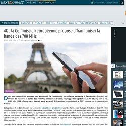 4G : la Commission européenne propose d'harmoniser la bande des 700 MHz
