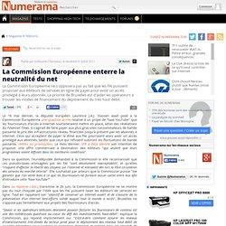 La Commission Européenne enterre la neutralité du net