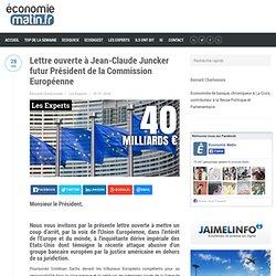 Lettre ouverte à Jean-Claude Juncker futur Président de la Commission Européenne