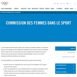 Commission des femmes dans le sport