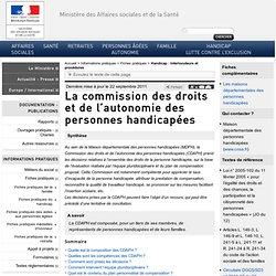 La commission des droits et de l'autonomie des personnes handicapées
