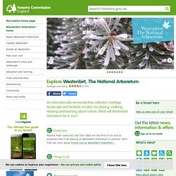 Westonbirt, The National Arboretum - visitor information, events and tree collection information