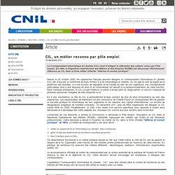 CIL, un métier reconnu par pôle emploi