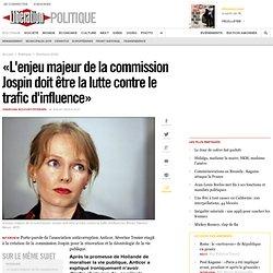 «L'enjeu majeur est la lutte contre le trafic d'influence»