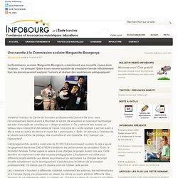 Une navette à la Commission scolaire Marguerite-Bourgeoys