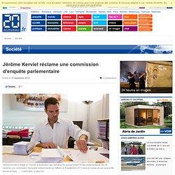 Jérôme Kerviel réclame une commission d'enquête parlementaire