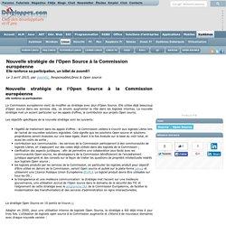 Nouvelle strat gie de l'Open Source la Commission europ enne, elle renforce sa participation, un billet de zoom61