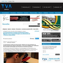 Rivière-du-Loup participera au Sommet de l'iPad en éducation