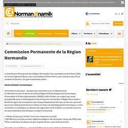 Commission Permanente de la Région Normandie