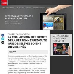 La Commission des droits de la personne s'inquiète