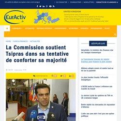La Commission soutient Tsipras dans sa tentative de conforter sa majorité