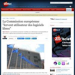 """La Commission européenne """"fervent utilisateur des logiciels libres"""""""