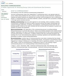 Building Commissioning: Definition