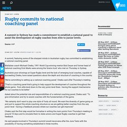 Rugby commits to national coaching panel
