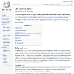 Church Committee