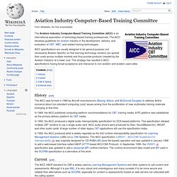 Aviation Industry Computer-Based Training Committee