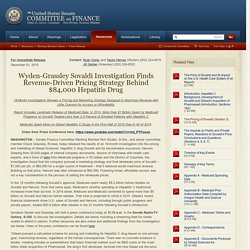 The United States Senate Committee on Finance: Newsroom - Ranking Member's News