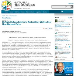 The House Committee on Natural Resources - Democrats - Ranking Member Peter DeFazio