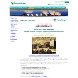 San Diego » EvoNexus » Applicants