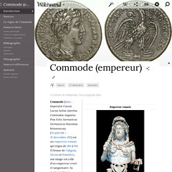Commode (empereur)