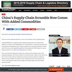 China's Supply-Chain Scramble Now Comes With Added Commodities – Supplychains Magazine