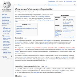 Commodore's Messenger Organization