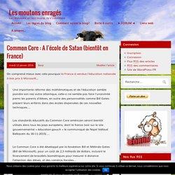 Common Core : A l'école de Satan (bientôt en France) – Les moutons enragés