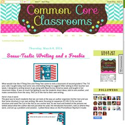Common Core Classrooms: March 2014