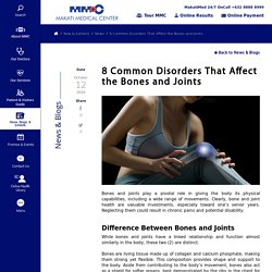 8 Common Disorders That Affect the Bones and Joints