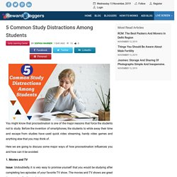 5 Common Study Distractions Among Students