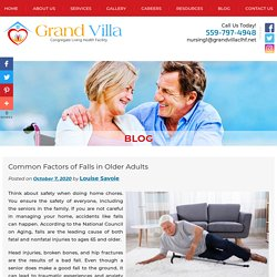 Common Factors of Falls in Older Adults