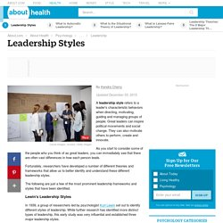 Lewin's Leadership Styles: The Three Major Leadership Styles