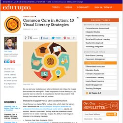 Common Core in Action: 10 Visual Literacy Strategies